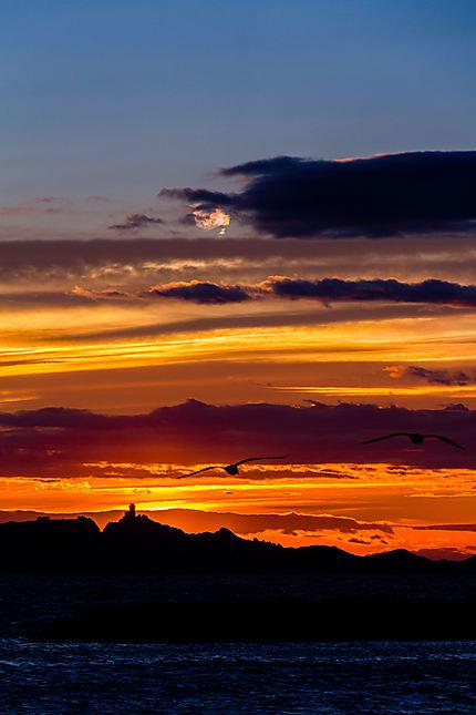 Marseille - Le coucher de soleil
