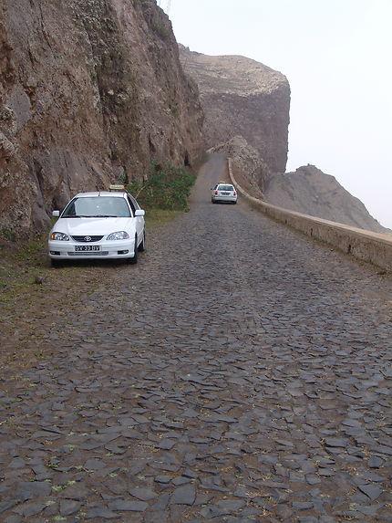 Mosaïque de basalte