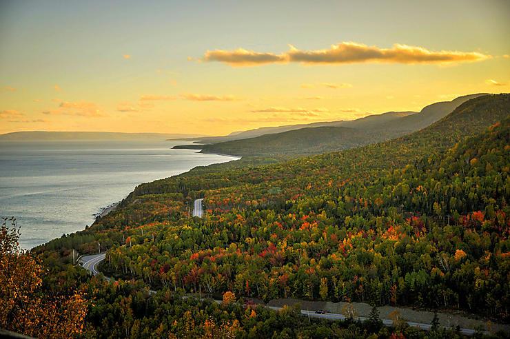 Cabot Trail - Nouvelle-Écosse, Canada