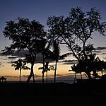 Makena Beach sunset