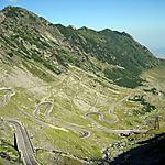 Lacets de la Route Transfagarasan
