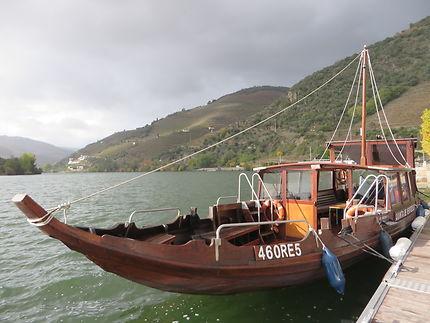 Balade en barque à Pinhao sur le Douro