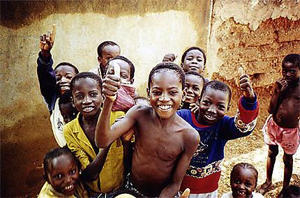 Enfants à Niamey