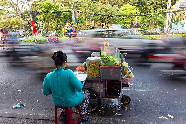 Les rues de Saigon : lieu de vie et d'échanges