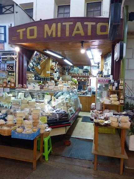Fromagerie en Crète