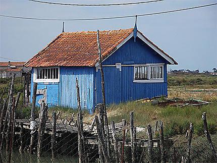 Cabane de pêcheurs à Dolus