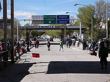 La Quiaca, frontière avec la Bolivie