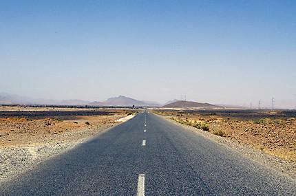 Sur la route du Sahara