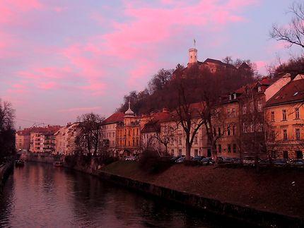 Le ciel de Ljubljana