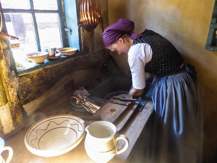 Comme un Vermeer au Den Gamle By, Danemark, par Albrot