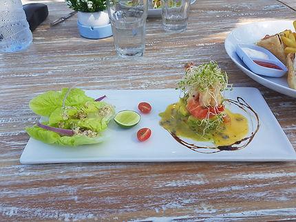 Déjeuner à Bali