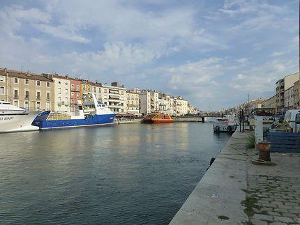 Grand canal de Sète