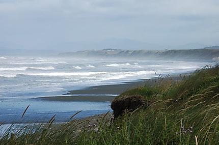 Paysage au Sud de l'ile du Sud