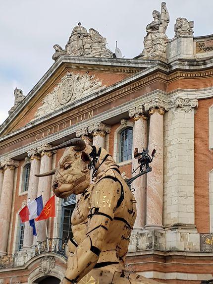 Astérion le Minotaure, place du Capitole, Toulouse