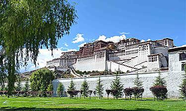 Palais du Potala (Lhassa)