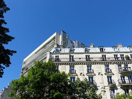 Les orgues sur toits de Paris
