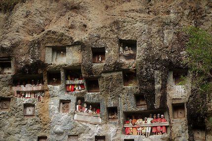 Balcons de Tau-tau, Indonésie