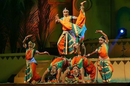 Troupe de danse à Goa