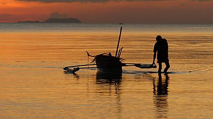Coucher de soleil à Bacolod