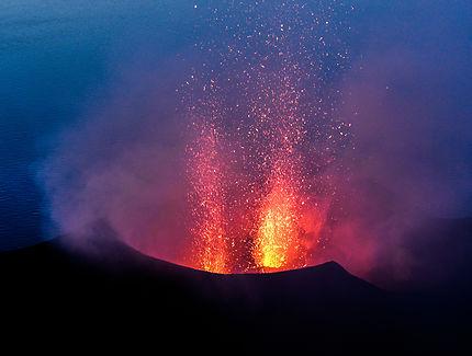 Explosion du Stromboli