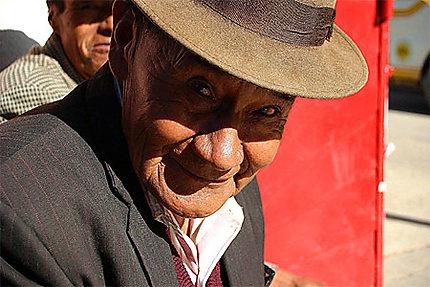 Dans le centre de Oruro...