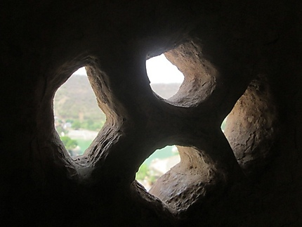Fenêtre ajourée