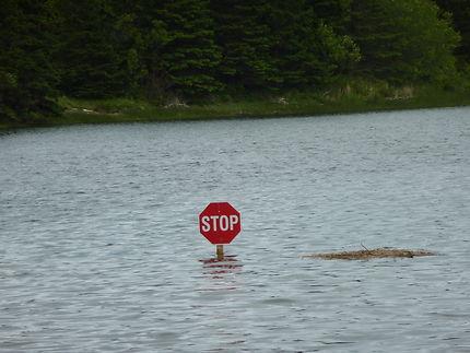 Inondation en Nouvelle-Ecosse...