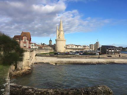 Vue sur la Tour de la Lanterne, La Rochelle