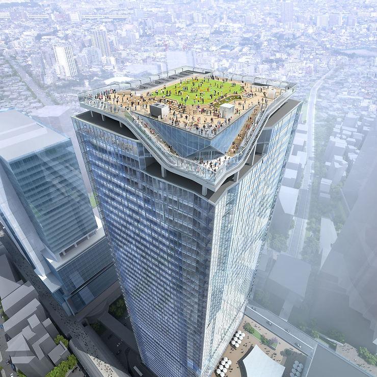Tokyo - Ouverture de la plus haute tour du quartier de Shibuya