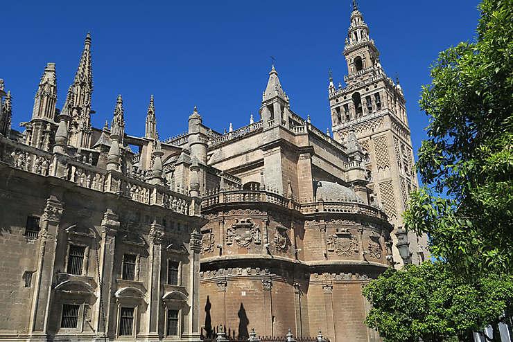 La cathédrale et l'Alcazar, trésors de l'Unesco