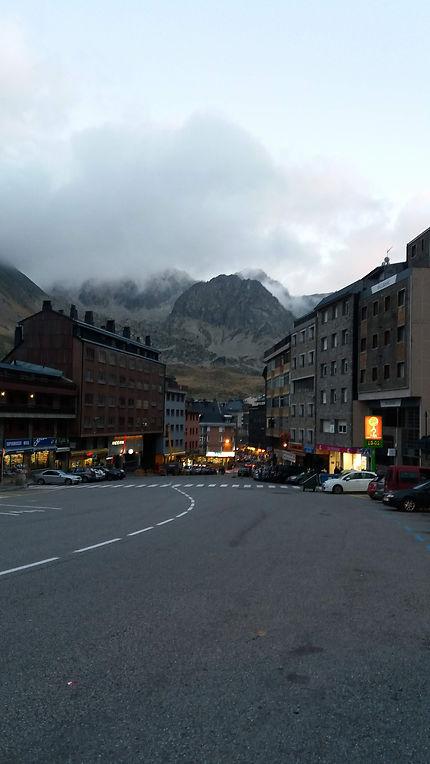 Pas de la Cassa Andorre, centre commercial