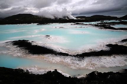 Islande, blue lagoon