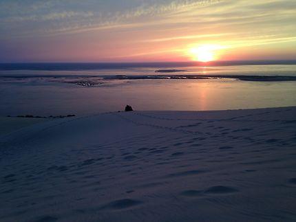 La dune du Pilat et les soirées d'été