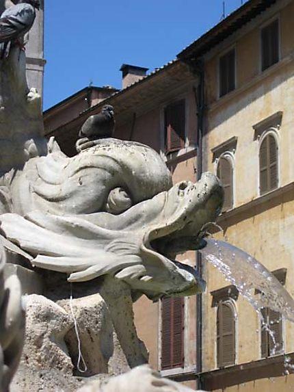 Gargouille de la place du Panthéon
