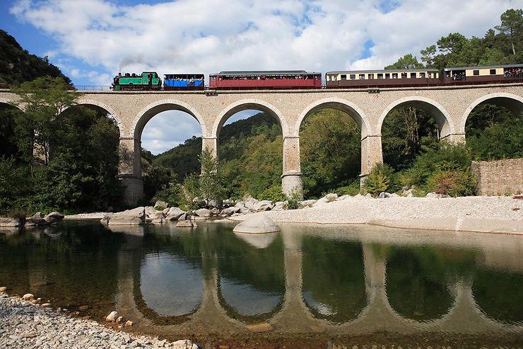 Le Train à vapeur des Cévennes (Gard)