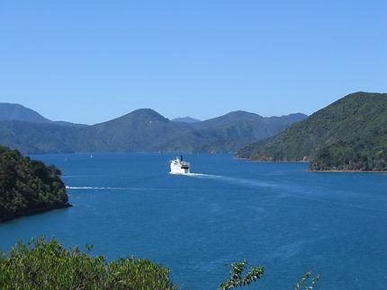 Le Ferry de Picton cingle vers Wellington