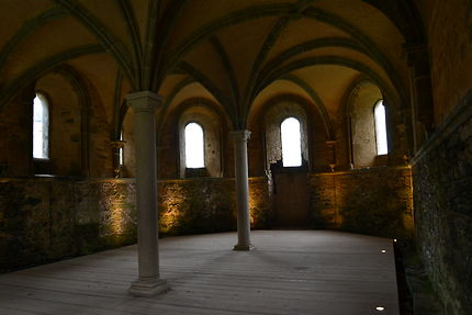 Salle Capitulaire Abbaye de Beauport