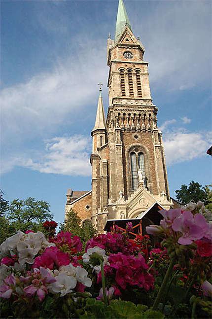 Eglise paroissiale de Ferencvaros, à l'occasion de la Pentecote