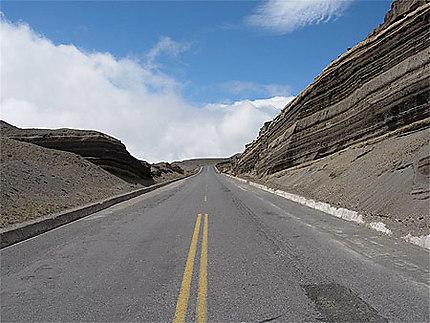 Sur la route du Chimborazo
