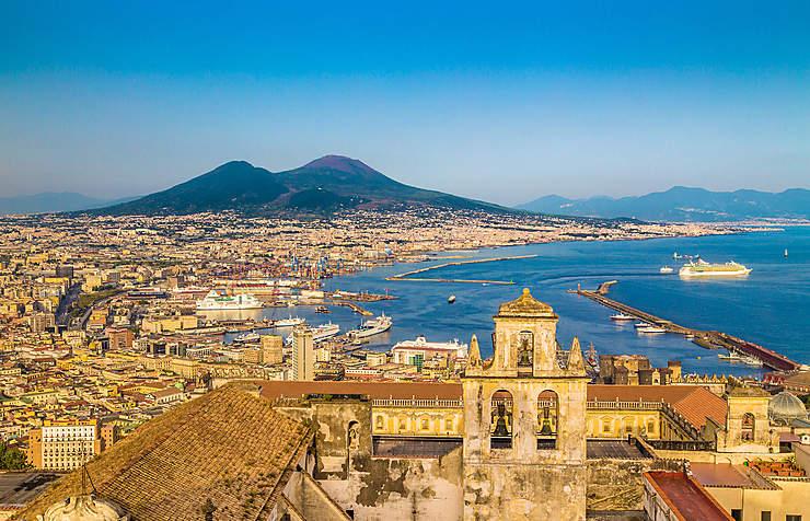 Naples et le golfe (Italie)