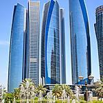 Quelques buildings à Abu Dhabi