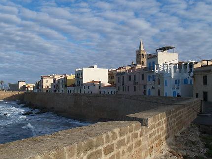 Lever du jour à Alghero