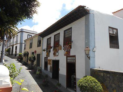 Une rue d'Icod de Los Vinos, Tenerife