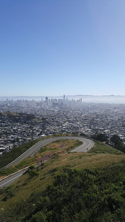 Route à San Francisco