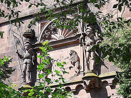Château de Heidelberg : détail
