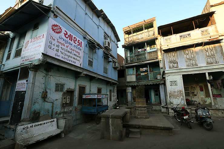 Ahmedabad et son tissu urbain