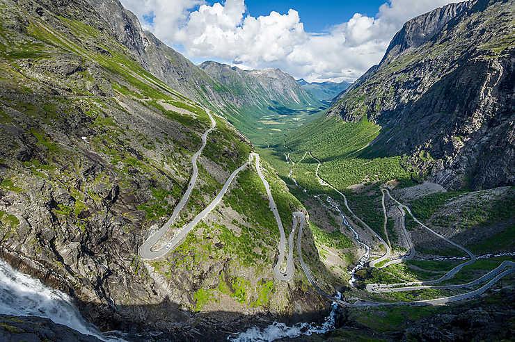 Route des trolls - Norvège