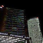 Potsdamer Platz by night