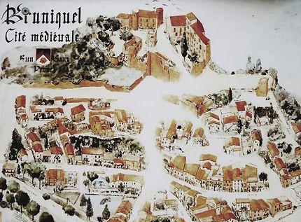 Bruniquel cité médiévale