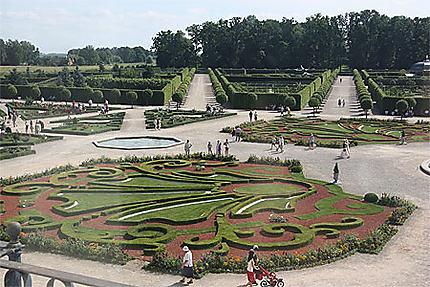 Jardin du Palais de Rundäle